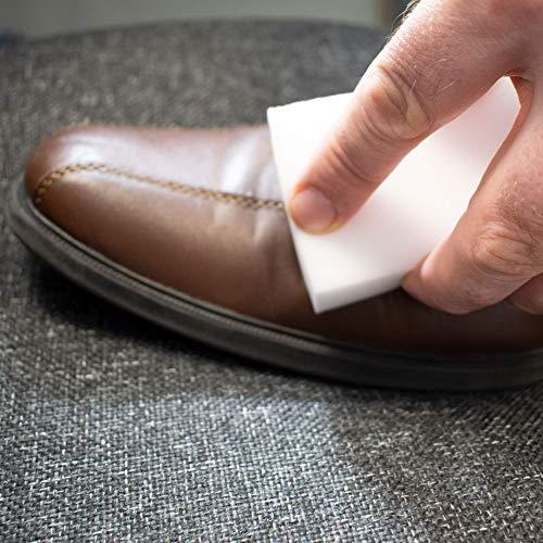 TRIXES Lot de 30 éponges de nettoyage magiques pour éliminer les tâches blanc éco de marque