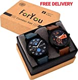 #5: ForYou Watches Analogue Dial For Boys And Mens - Blue And Orange