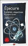 Lettres, maximes et autres textes par Épicure
