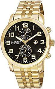 August Steiner Casual Watch Analog Display Quartz Movement for Men