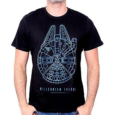 Tshirt Star Wars VII - Millennium Falcon