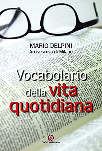 Vocabolario della vita quotidiana di Mario Delpini