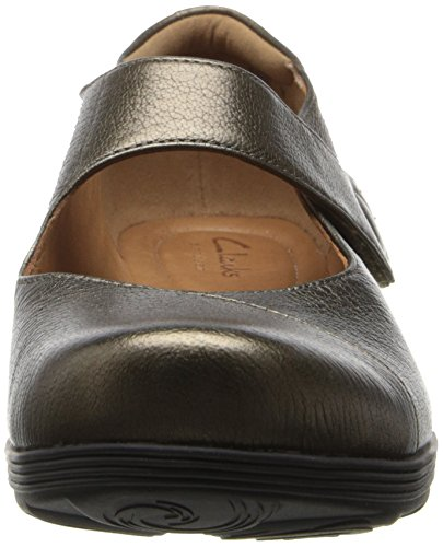 Clarks Aubria Muse Mary Jane piatto Bronze leather