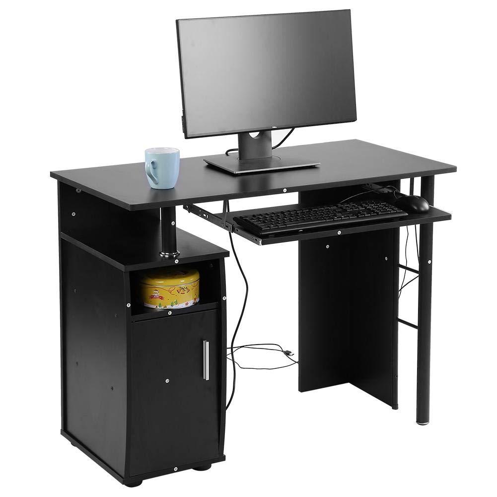 GOTOTOP Scrivania da Ufficio Postazione per Computer,Tavolo Porta PC ...