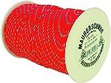 HaWe 18.006 Maurerschnur 200mx2mm aus Polypropylen in rot/weiß