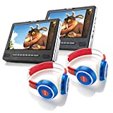 Nextbase 9T 9 Inch In-Car Headrest DVD Player + 2 Pairs of Headphones