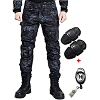 H Welt EU - Pantalones militares del ejército táctico, para airsoft o paintball, pantalones de lucha para hombre con rodilleras, color TYP, tamaño xx-large