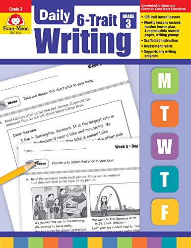 Daily 6-Trait Writing Grade 3