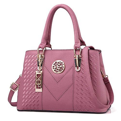Handtasche Multifunktions-Design Elegante Einkaufstasche Für Die Schule Einkaufen Umhängetasche Diagonale Stickgarn