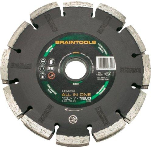 Preisvergleich Produktbild Rhodius 303670 Mauerschlitz-Diamantscheiben-System LD402-All in One, 125 x 7 x 18 x 22.23 mm