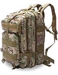 Eyourlife RFID Mochila Militar Táctica Molle para Acampada Camping Senderismo Deporte Backpack de Asalto Patrulla para