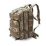 Eyourlife Mochila Militar Táctica Molle para Acampada Camping Senderismo Deporte Backpack de Asalto Patrulla para Hombre Mujer Caqui Colorido 20L
