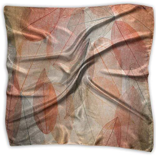 Bikofhd Damen Seidenschal Karte der Wold Bedruckt, quadratisch, Sonnenschutz-Schal