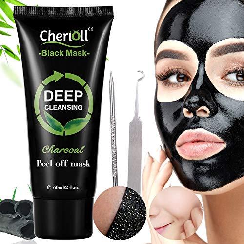 Cherioll Black Mask Aktivkohle Remover Deep Cleaning Facial Maske
