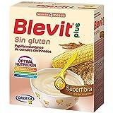 Blevit Plus Superfibra Sin Gluten Cereales - Paquete de 2 x 300 gr - Total: 600 gr