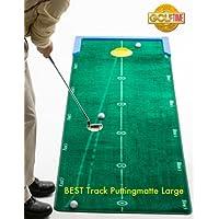 BONUS ET SALVUS TIBI (BEST) Track - Alfombra para putting de golf (3,2 m x 75 cm)