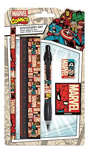 Marvel Blocks Logo Schreibwaren-Set