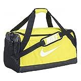 Nike Brasilia Sporttasche, gelb (Electrolime / schwarz / weiß), 51 x 25.5 x 28 cm, 41 L