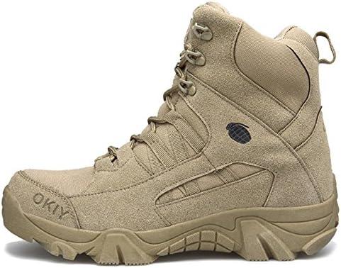 SHANLY Side Zip Ejército Militar Táctica De Zapatos Hombres Acordonadas Combate del Entrenamiento De Las Fuerzas...