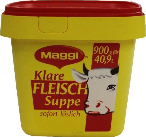 Maggi Klare Fleischsuppe 1.08 kg, 1er Pack (1 x 1.08 kg)