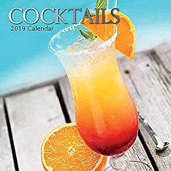 Cocktails  2019 Square Wall Calendar