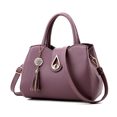Mode / Sport / Zip / PU / Europäischen Und Amerikanischen Frauen Tasche Purple