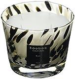 Baobab MAX10PB Pearls Black Kerze, Kerzenwachs, 10 x 7 x 10 cm