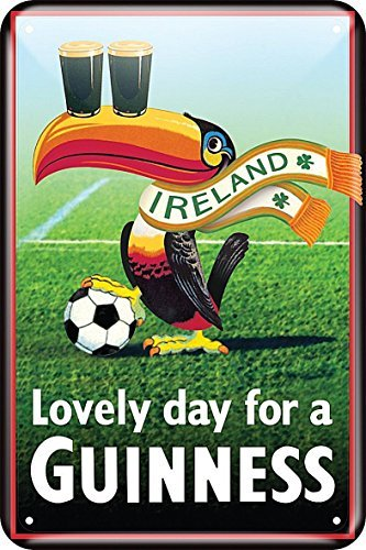 guinness-toucan-football-irlande-gaufre-metal-signe-300mm-x-200mm-sg