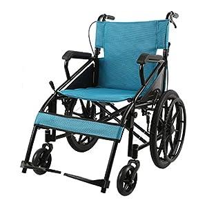 Wheelchair Folding lightweight wheelchair Travel disabled trolley Elderly multifunctional wheelchair