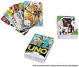 Mattel Games-UNO Gioco da Tavola, Carte in Edizione Speciale Jean-Michel Basquiat, Divertimento per Tutta la Famiglia, GDG38