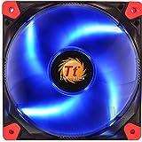 Thermaltake - Luna 12 LED - Ventilateur PC (12V - 20.7 dB - diam: 12cm - 1200 RPM) Bleu