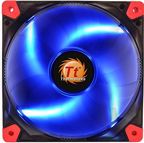 Thermaltake Luna 12 LED Lüfter 1000rpm 3-polig blau