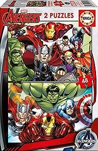 Educa Borrás- Avengers Puzzle, Multicolor, Talla Única (15932)