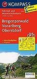 Bregenzerwald - Vorarlberg - Oberstdorf: Fahrrad- und Mountainbikekarte. GPS-genau. 1:70000: Fietskaart 1:70 000 (KOMPASS-Fahrradkarten Deutschland, Band 3126) -