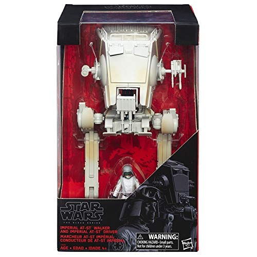 Star Wars Imperial AT-ST Walker and Imperial AT-ST Driver Action Figures The Black Series 3.75 inch Exclusive - Star Wars-at-spielzeug