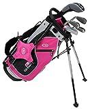 US Kids KinderGolf Ultralight Set 48, 5Club Ständer Golf Set mit Tasche