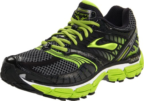 Brooks Glycerin 9 M, Chaussures de running homme White/Black/Silver/Limegreen