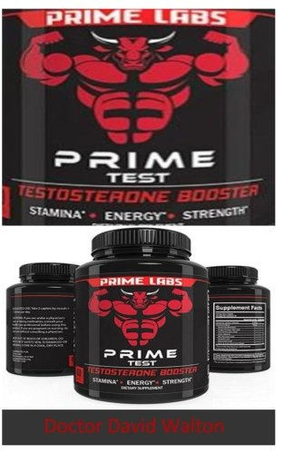 Prime Lab's Prime Test (Booklet): Prime Labs Men's Testosterone Booster - Natural Stamina, Endurance and Strength Booster - Fortifies Metabolism - Promotes Weight Loss and Fat Burning