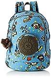 Kipling Carlow Sac à Dos Enfant 31 cm, Monkey Rock (Multicolore) - KI283830R