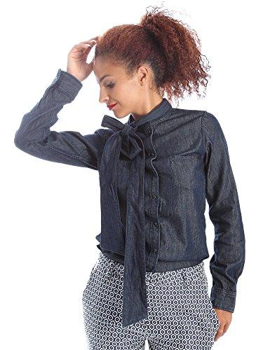 Pepe jeans PL301843 Camicia Donna Blu Xs