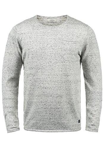 JACK & JONES SweaterJack & Jones Lior Maglione Pullover Maglieria da Uomo con Girocollo TagliaS ColoreLight Grey Melange