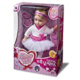 Grandi Giochi GG71153, Nuova Giulia Ballerina Amore Mio, Colore Rosa e Bianca