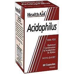 HEALTHAID Acidophilus Vegi Capsules 60, 159 g