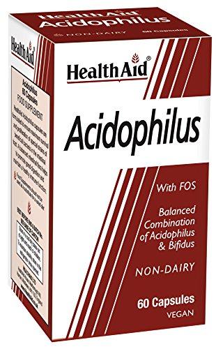 Mia Skin Care (HEALTHAID Acidophilus Vegi Capsules 60, 159 g)