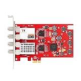 TBS 6908Profi DVB-S2Quad Tuner PCIe Karte