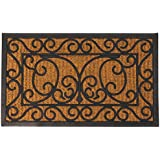 Esschert Design  Esschert Design, Rubber doormat/cocos L, RB08, Rubber and coir, 75x45x1 -