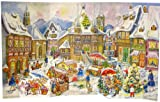 Large 3D Advent Calendar 24 doors Advent Calendar Village from 1958 470 x 282 3 d frees...