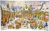 Large 3D Advent Calendar 24 doors Advent Calendar Village from 1958 470 x 282 3 d frees...