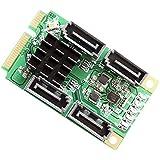 iocrest 4Port SATA 6.0Gbit/s III Mini PCI-Express Host Controller Karte–Grün - gut und günstig