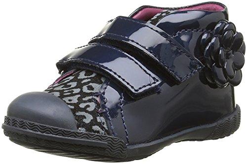 Mod8 Kum, Chaussures Premiers Pas Bébé Fille, Bleu (Marine Imprimé), 21 EU